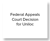 Federal Appeals Court Decision for Uniloc